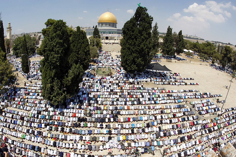 The ramadan cannon of Jerusalem